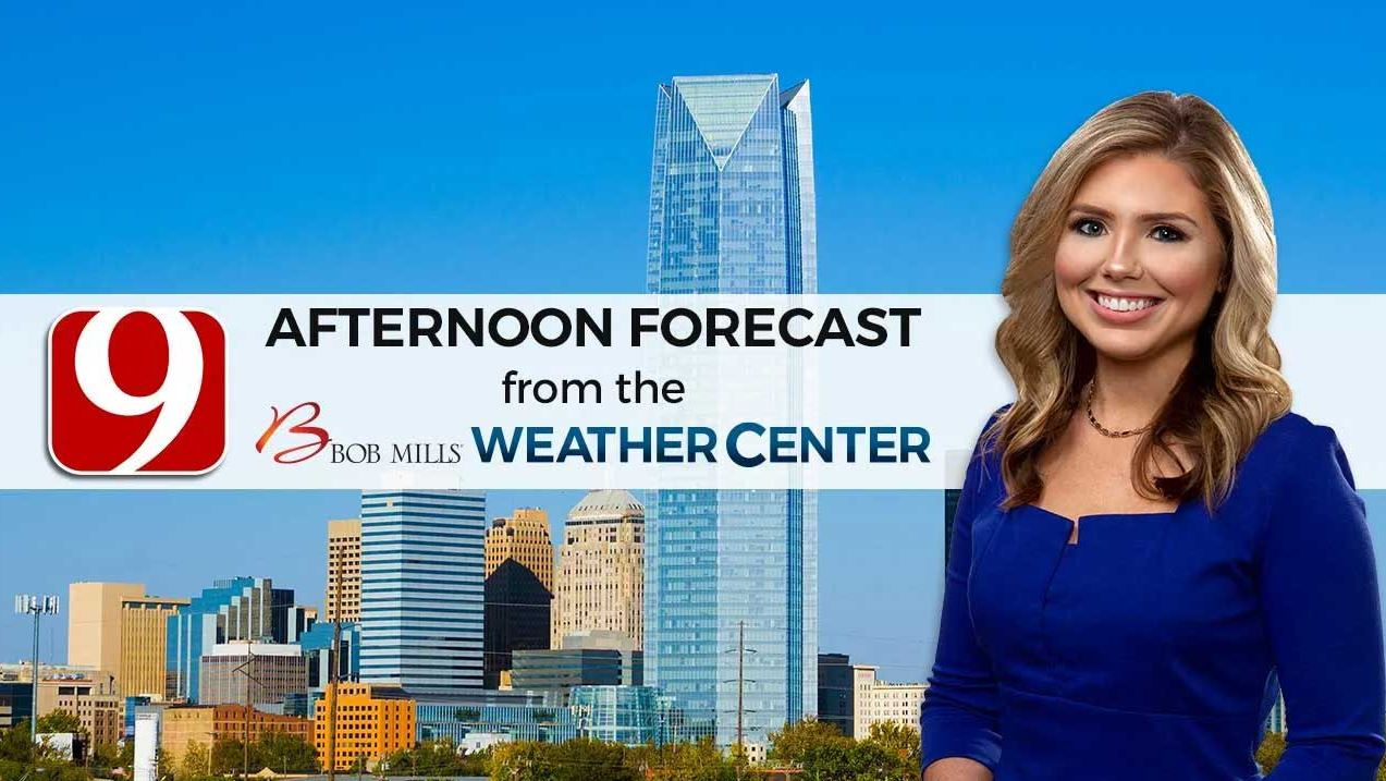 Monday Afternoon Forecast With Cassie Heiter