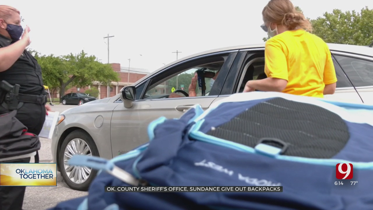 Oklahoma Co. Grandparents Receive Much Needed Back To School Relief