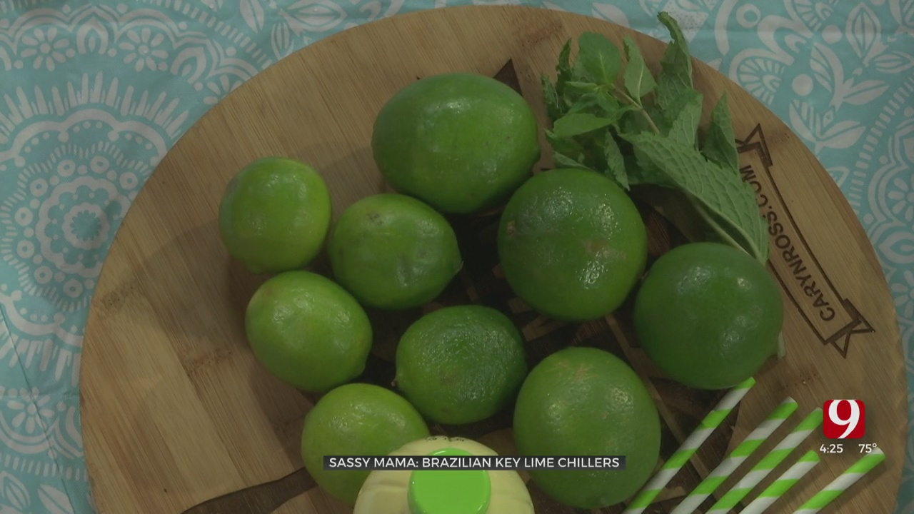 Sassy Mama: Key Lime Chiller