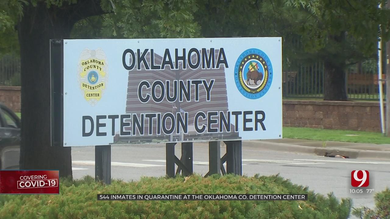 544 Inmates Under Quarantine At Oklahoma Co. Jail