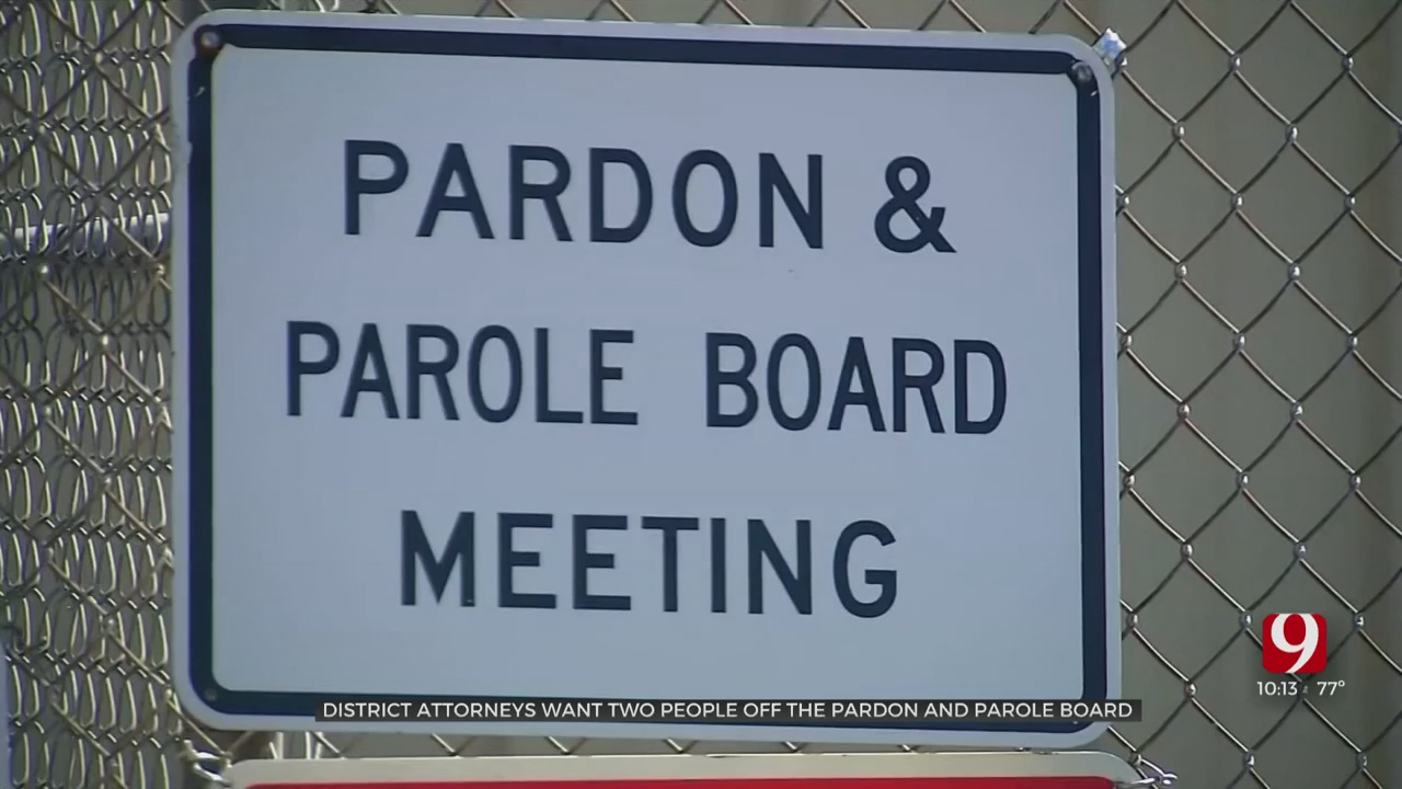 District Attorneys Want 2 People To Step Down From The Pardon & Parole Board