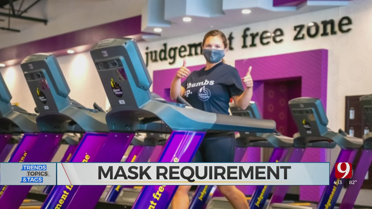 Trends, Topics & Tags: Planet Fitness Mask Requirement