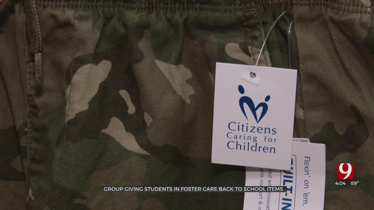 Organization Preparing Foster Care Students Ready For School
