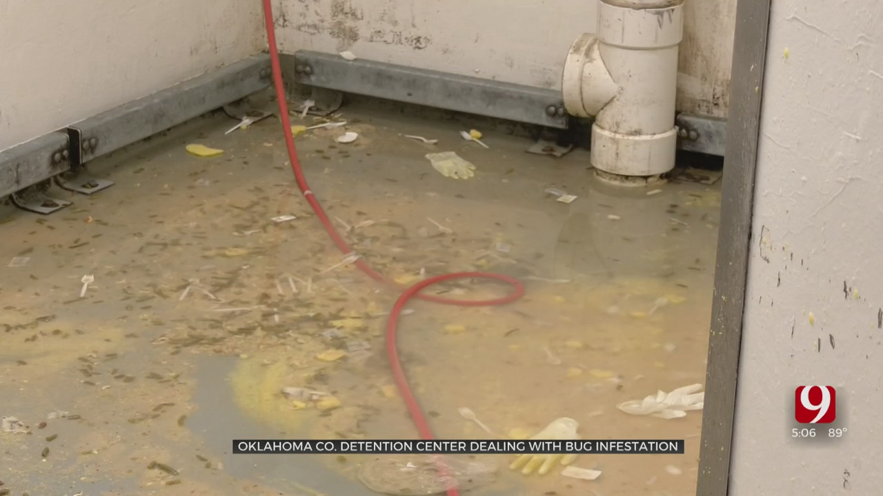 Oklahoma County Detention Center Dealing With Bug Infestation