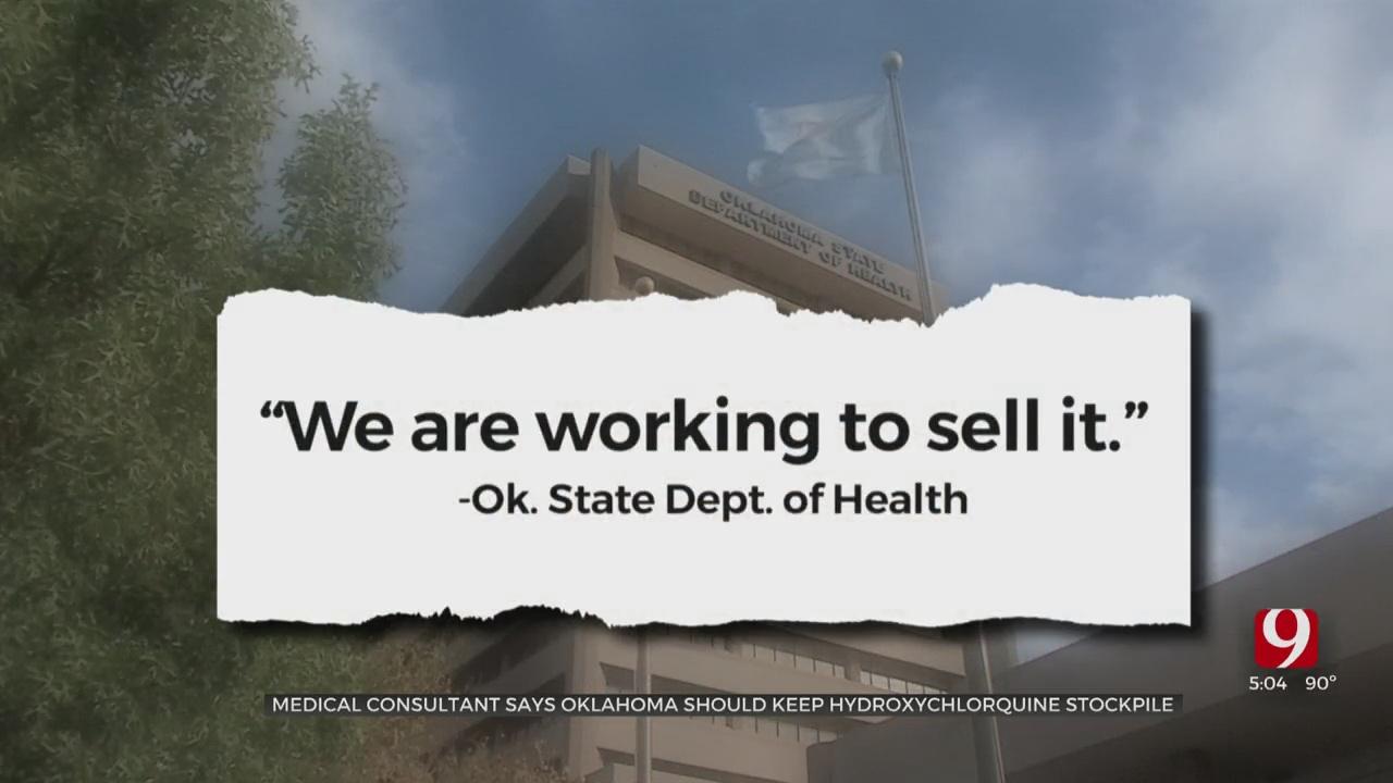 State Selling Hydroxycholoroquine Stockpile