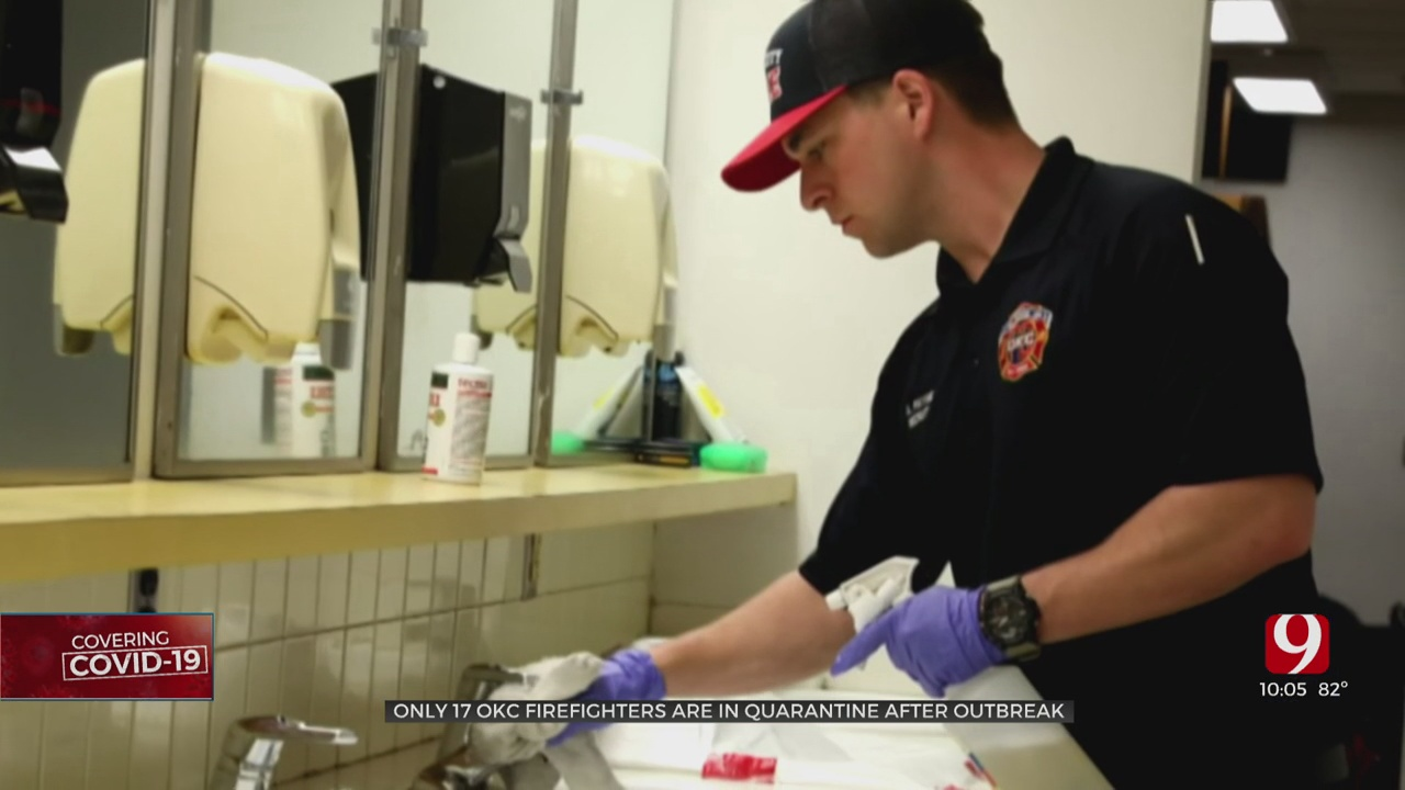 Oklahoma City Firefighters Recovering From COVID-19