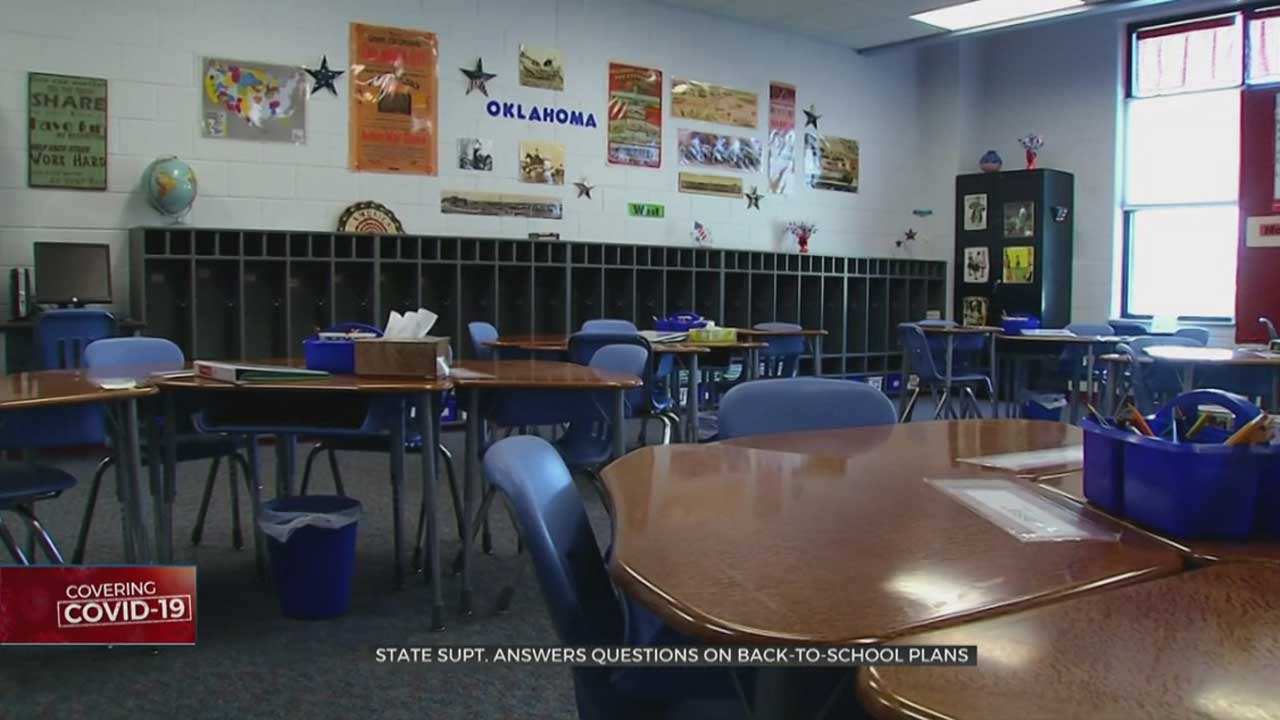 State Superintendent Hofmeister Answers Questions About Back To School Plans