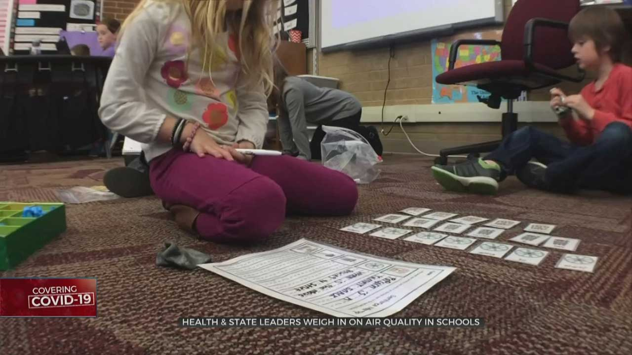 Health & State Leaders Weigh In On Air Quality In Schools