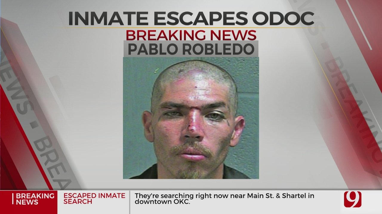 Oklahoma County Jail Officials Identify Escapee