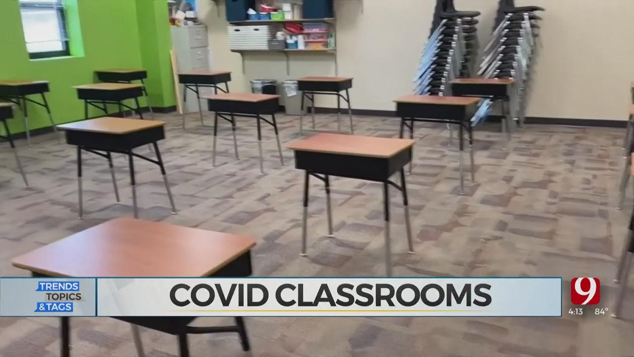 Trends, Topics & Tags: Teacher Setting Up Classroom