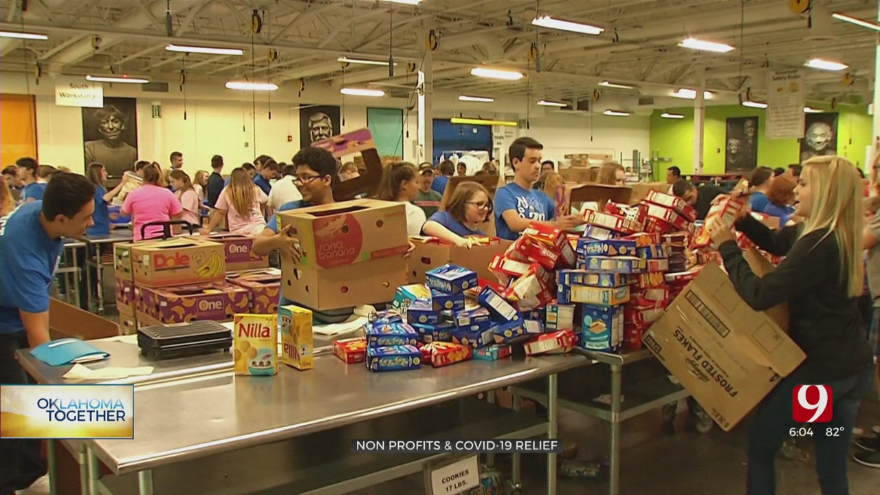 Oklahoma Together: OKC Nonprofits Receiving COVID-19 Relief Grant