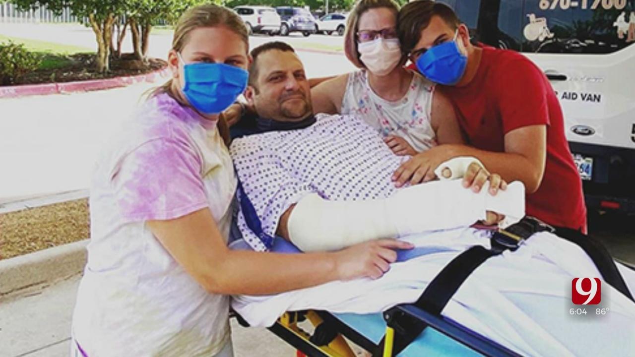 Trooper Injured In Fallen Tulsa Officer Escort Released From Hospital