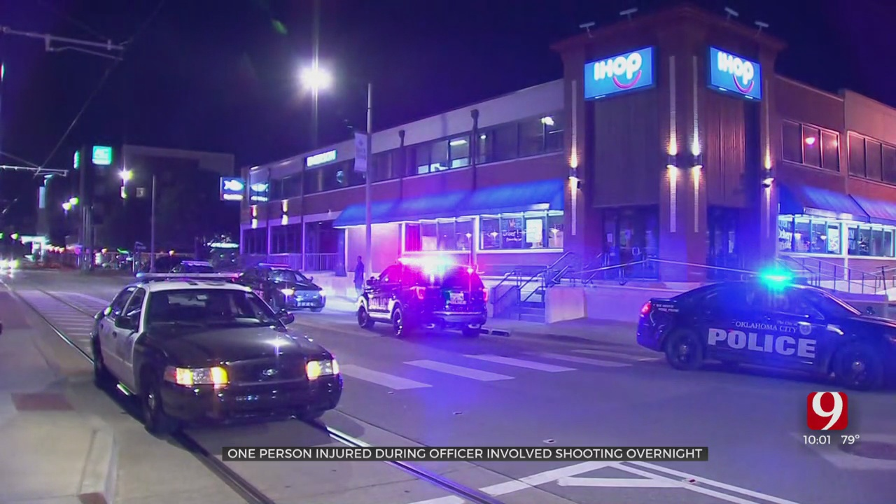One Person Hospitalized After Officer-Involved Shooting In Downtown OKC
