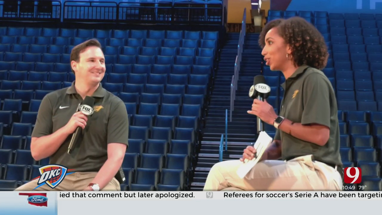 Steve McGehee Takes You Behind The Scenes Of The Thunder's Remote Game Broadcasts
