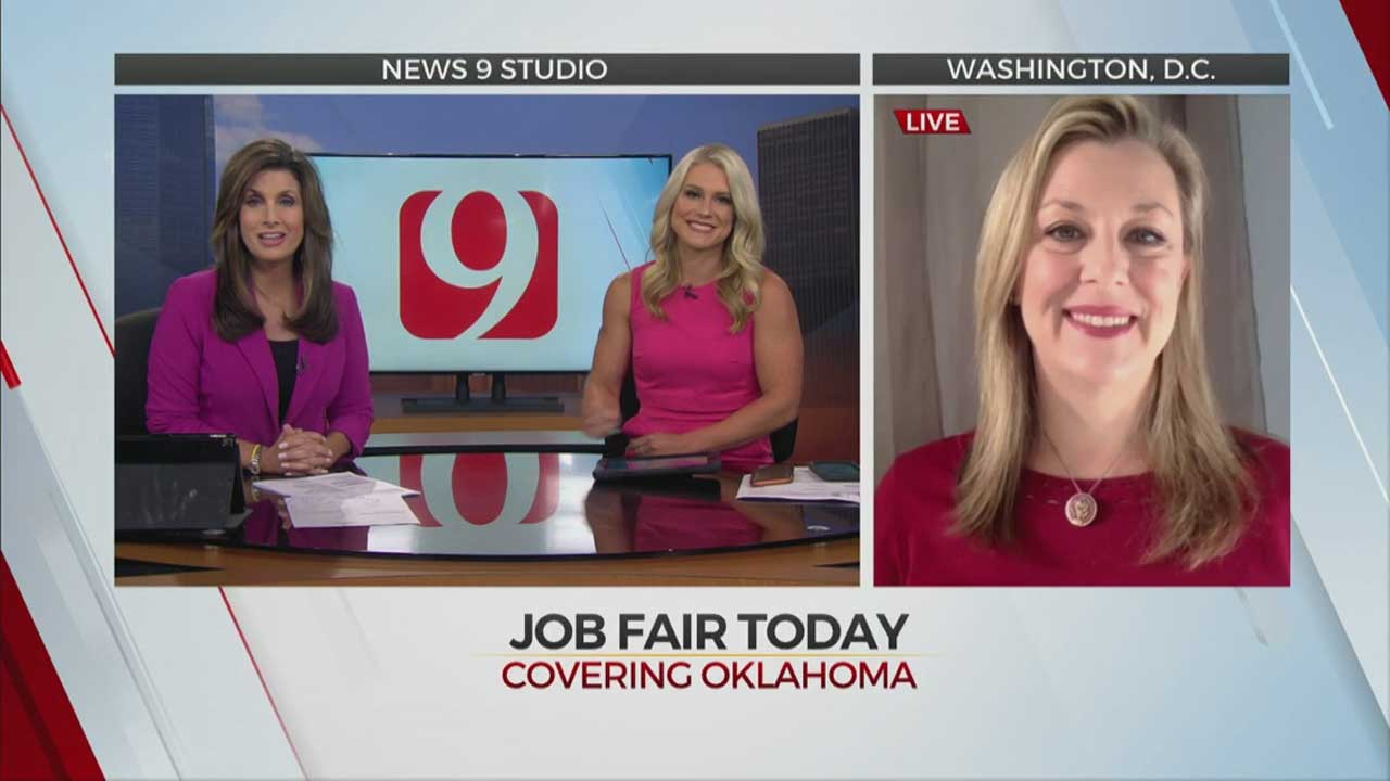 News 9 This Morning's Interview With Rep. Kendra Horn About Okla. Job Fair