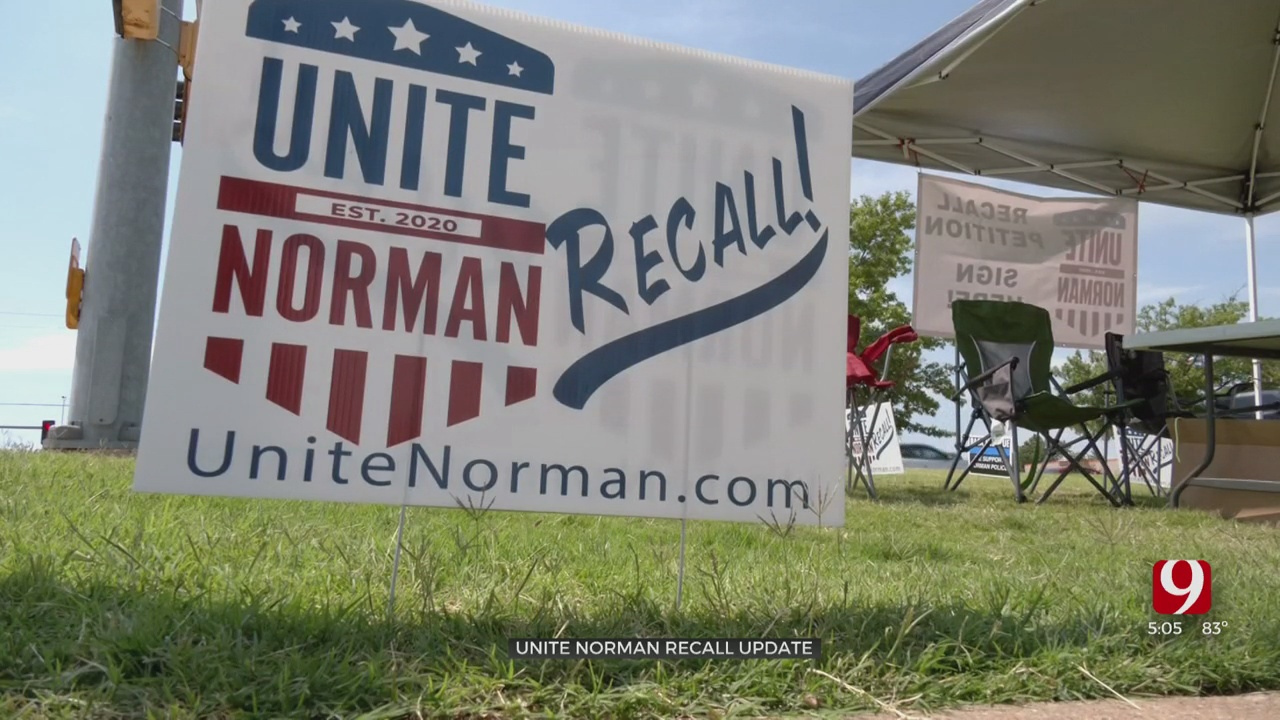 Unite Norman Gains Enough Signatures In Push To Recall City Council Members