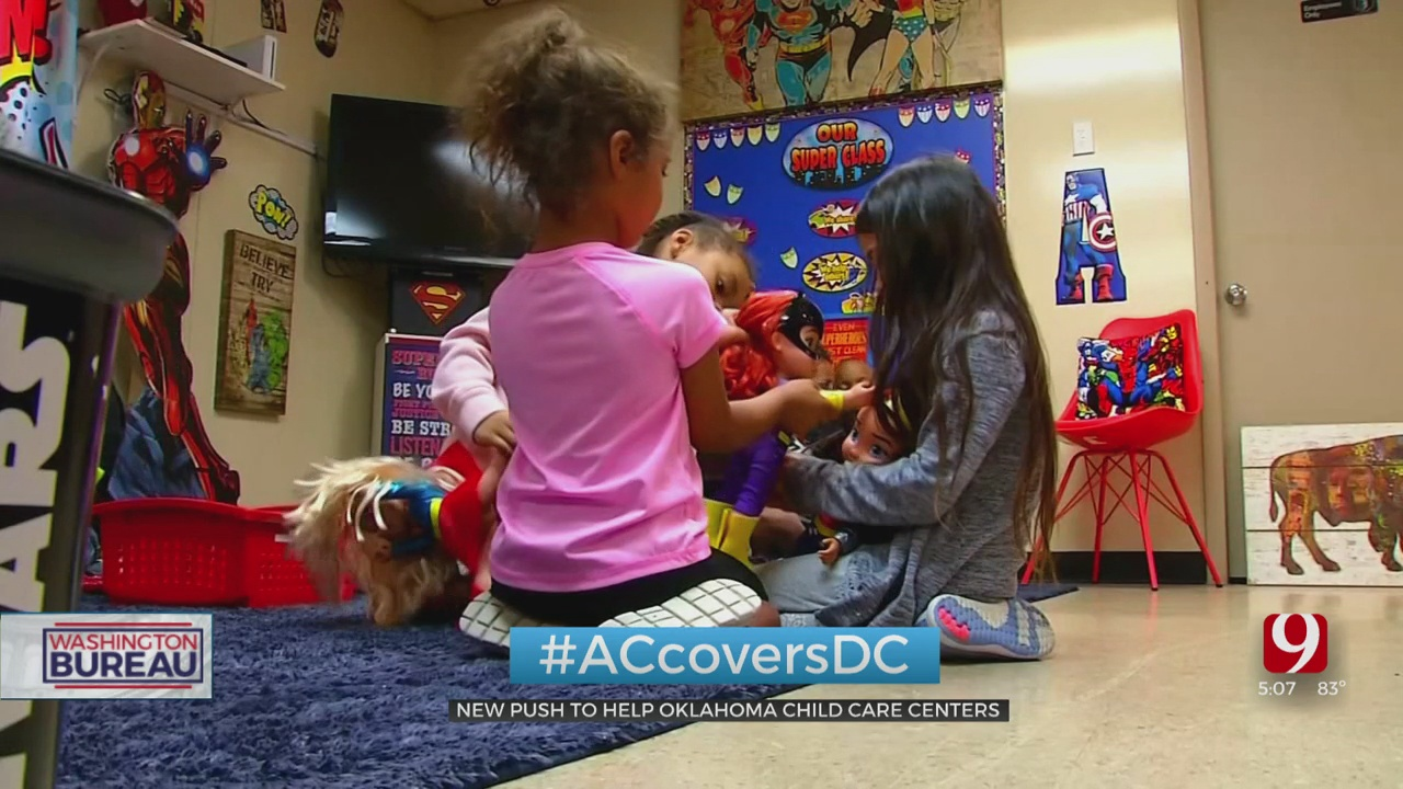 New Push From Congress To Help Oklahoma Child Care Centers