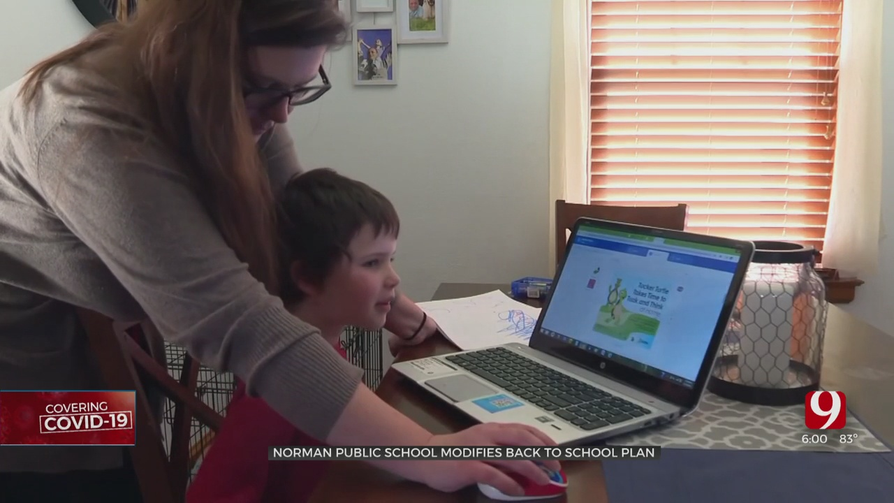 Norman Public Schools To Start School Virtually Due To Rise In County COVID Cases