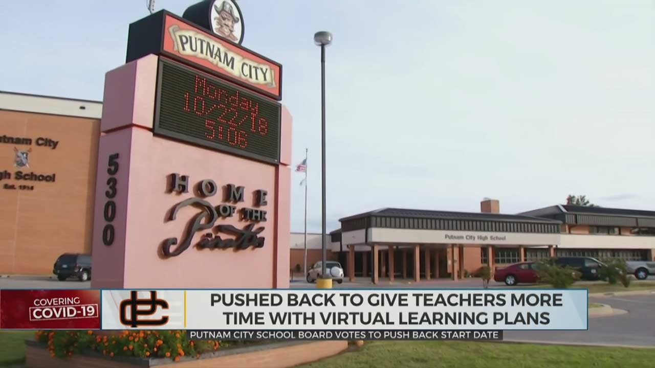 Putnam City School Votes To Push Back Start Date For Academic Year