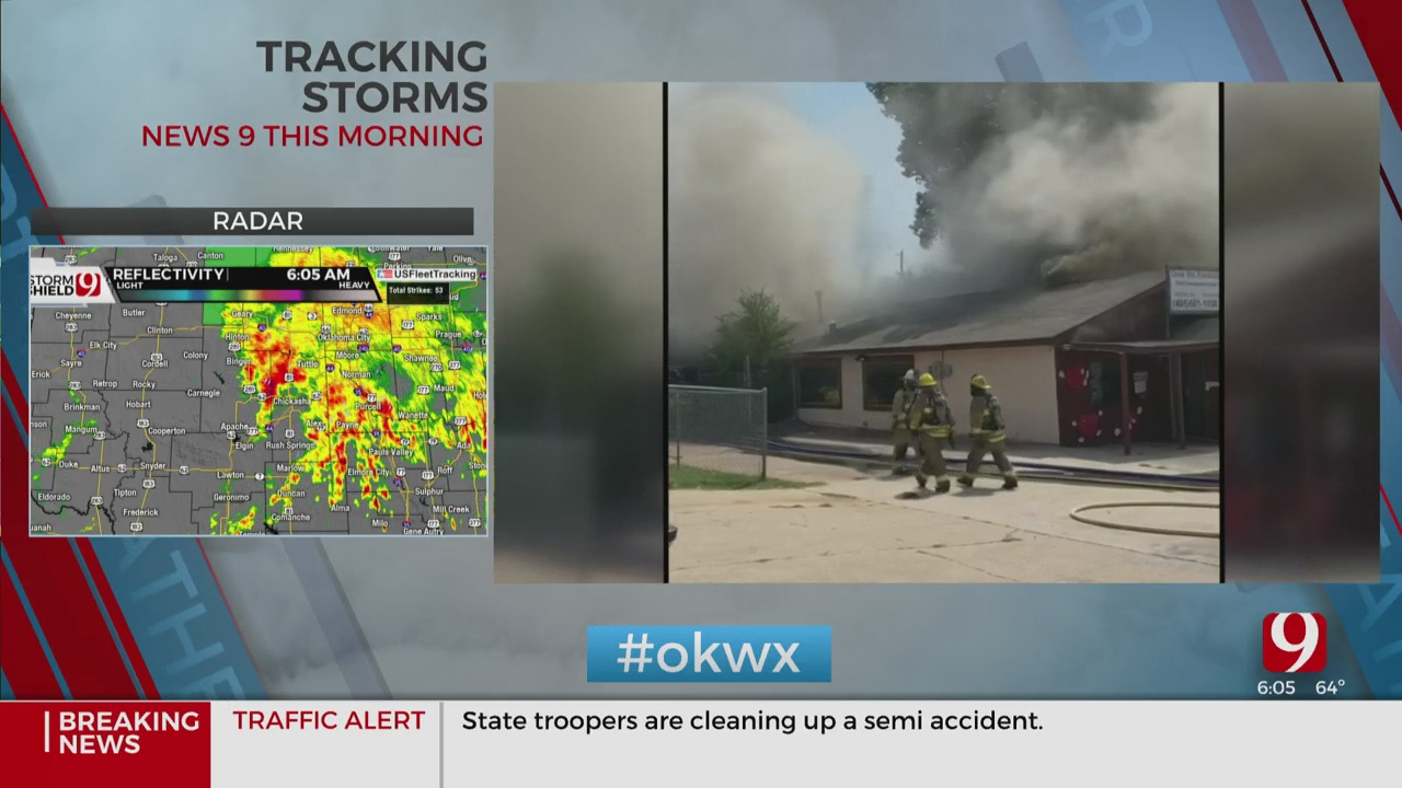 Alert Workers Help Save Children From Del City Daycare Fire