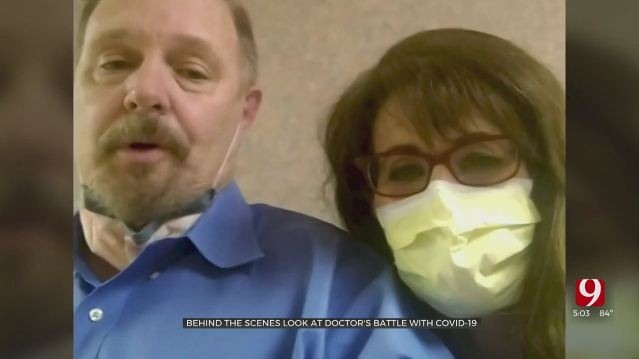 Married OKC Doctors Give Inside Look At Fight Against COVID
