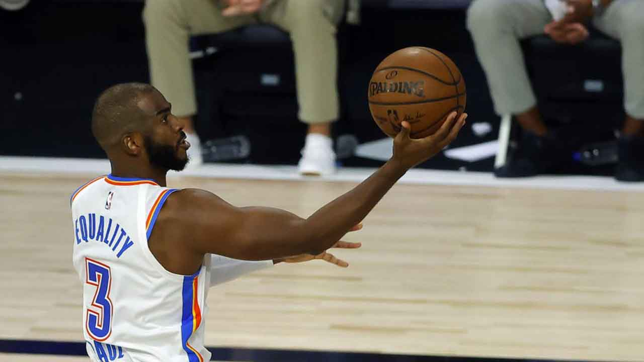 CP3 Leads Thunder's Rout Of Cold-Shooting Lakers, 105-86