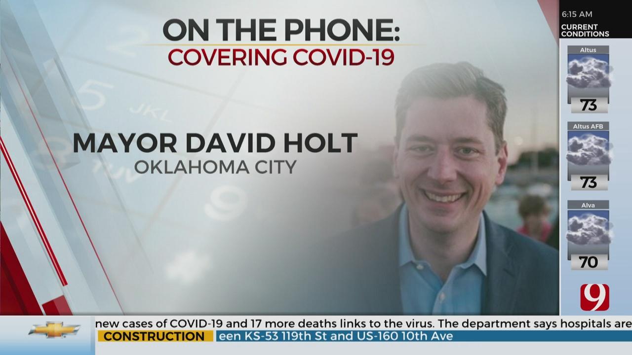 OKC Mayor David Holt Provides COVID-19 Update