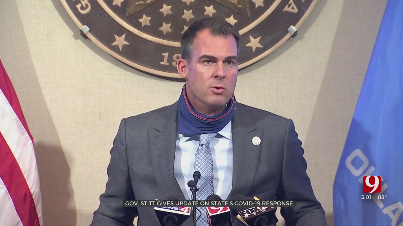 Gov. Stitt Downplays Visit From White House's Dr. Brix