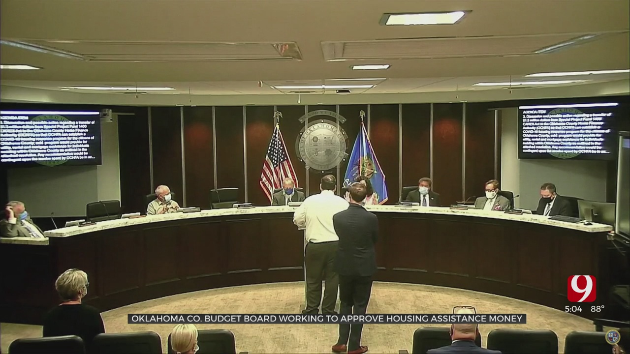 Oklahoma Co. Budget Board Working To Approve Housing Assistance Money