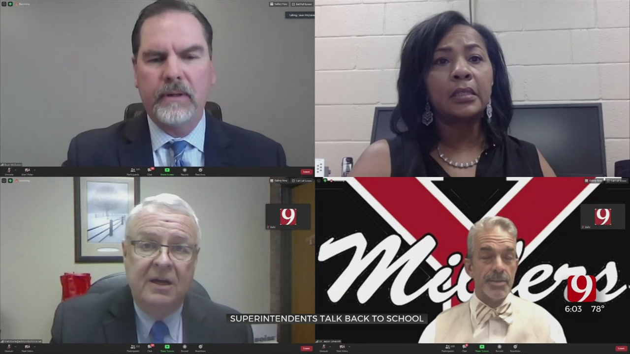 Oklahoma's District Superintendents Discuss Different Plans For Upcoming School Year