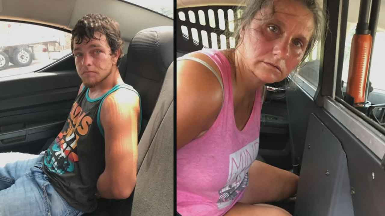 Couple Arrested By Police After Making Pit-Stop Following Mulit-County Police Chase