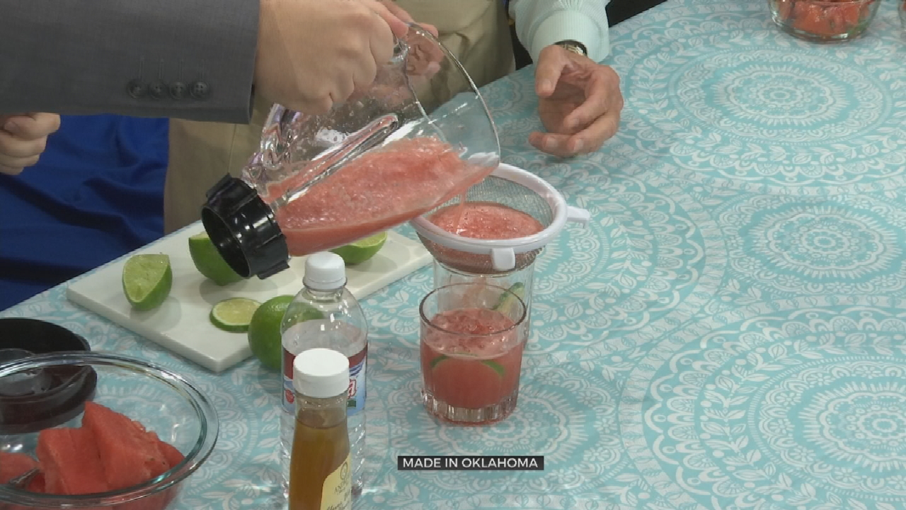 Made In Oklahoma: Tomato Salad With Water Melon Fresca