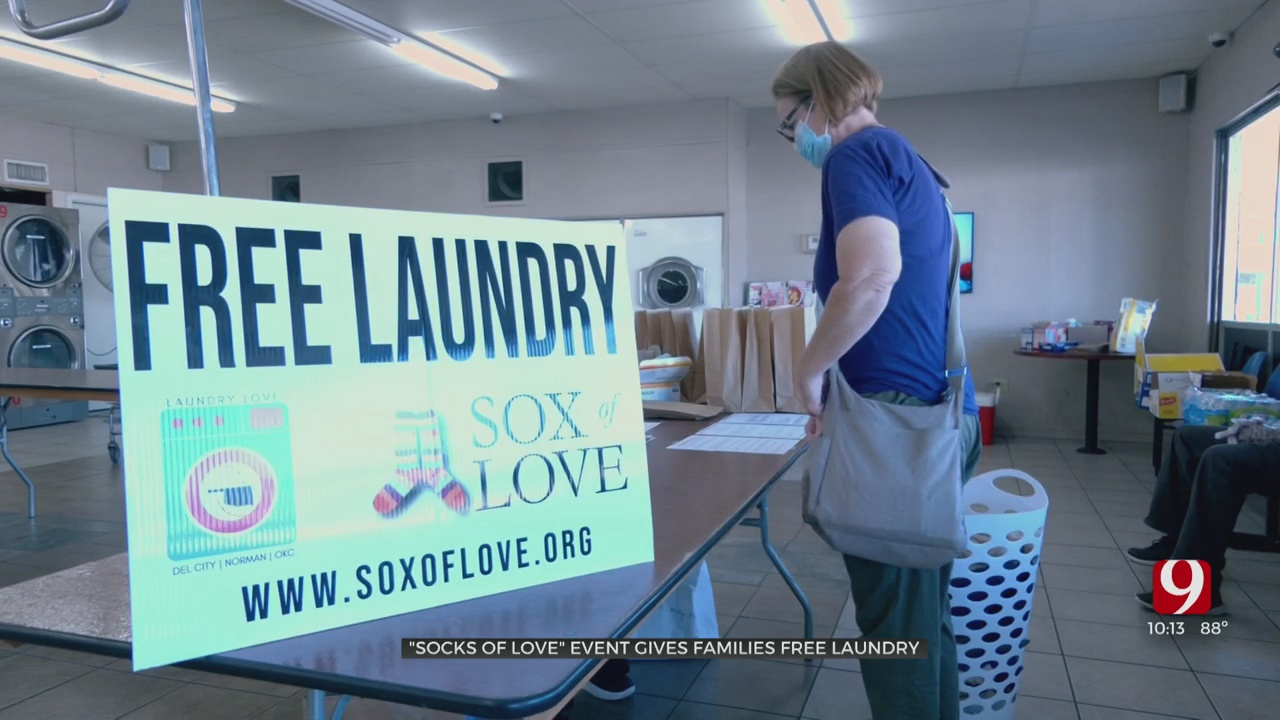 Oklahoma Together: Local Non-Profit Lessens The Laundry Load