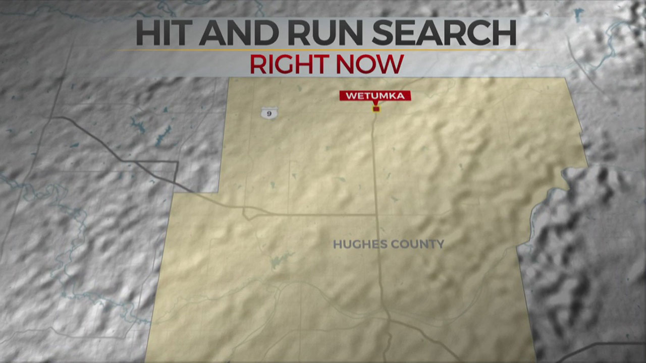 Troopers Search For Suspect In Deadly Hit And Run In Hughes Co.