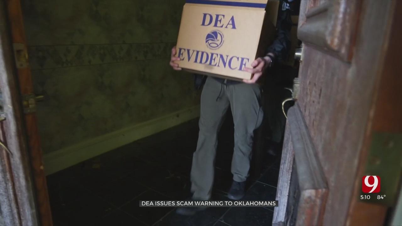 DEA Warns Oklahomans Of Impersonation Scam