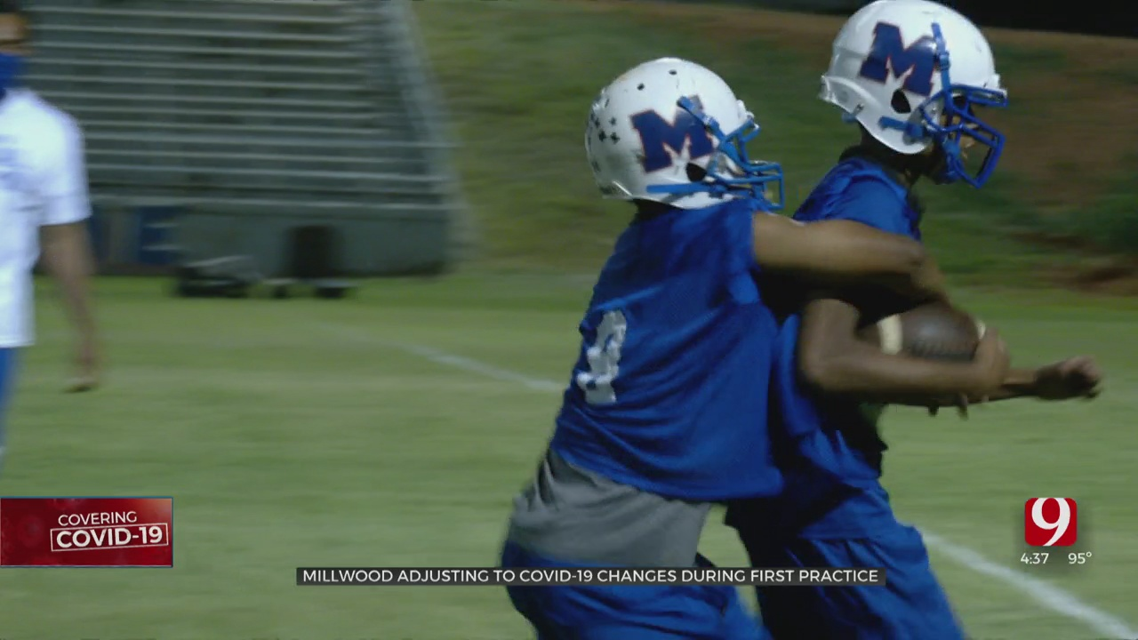 Millwood HS Adjusting To COVID-19 Changes During 1st Practice