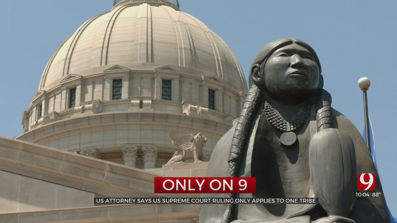 Oklahoma US Attorney Weighs In On Supreme Court McGirt Decision