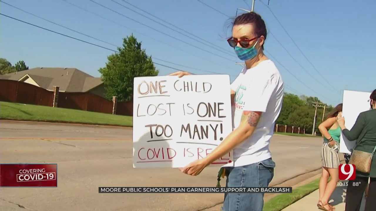 Some Moore Parents, Citizens Call For More COVID Safety Measures Ahead Of Return To School