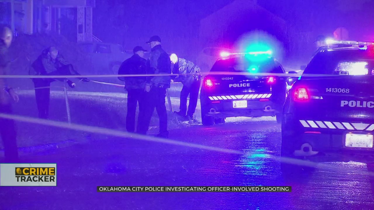 1 Critically Injured In NE OKC Officer-Involved Shooting