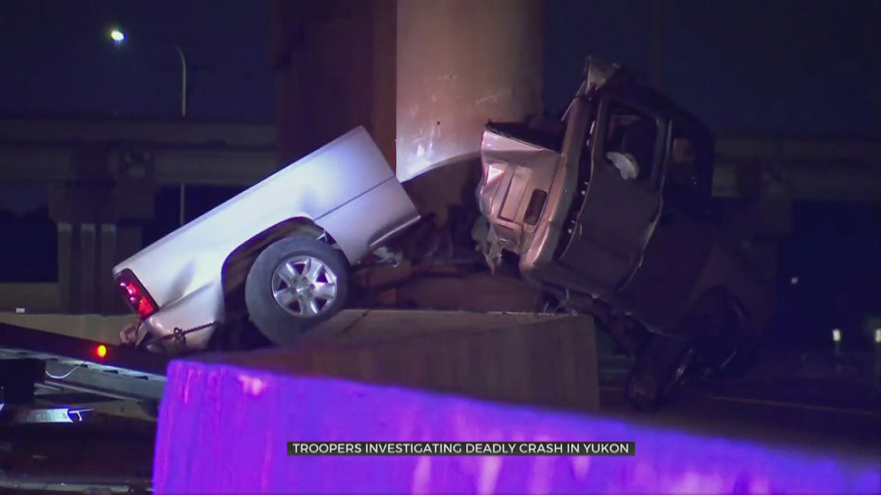 1 Dead After High-Speed Crash In Yukon, Troopers Say