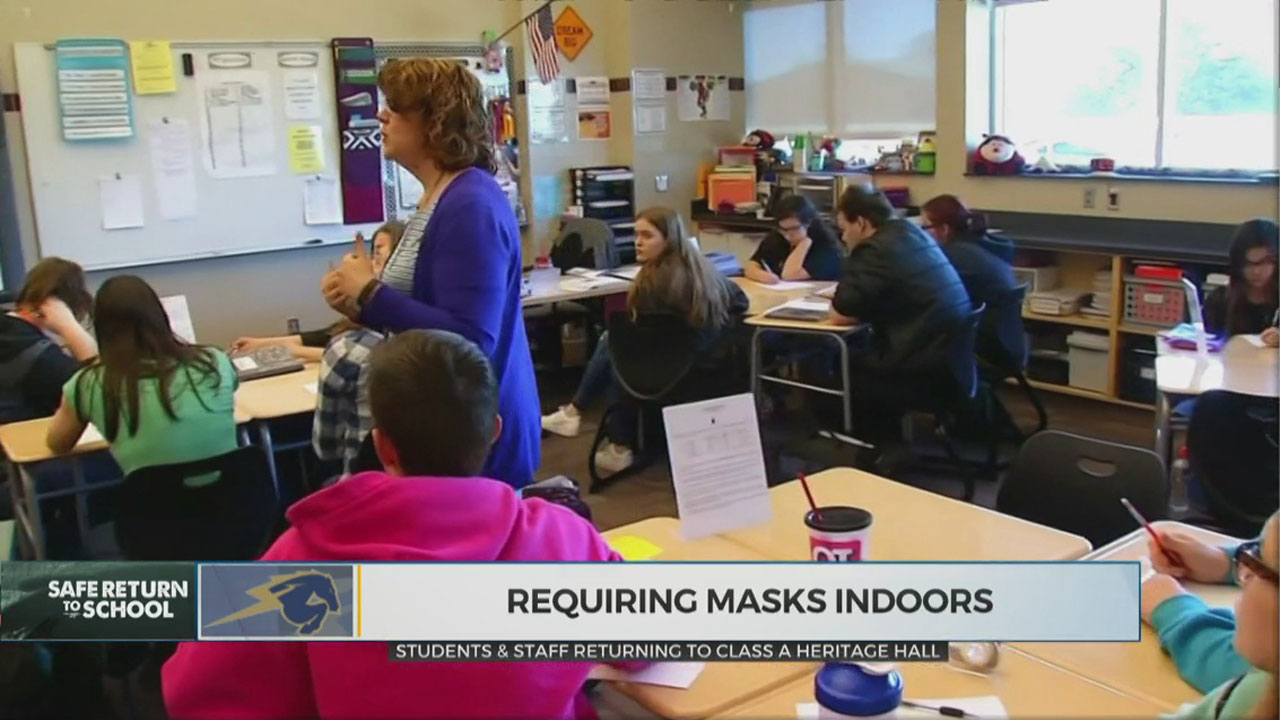 Several OKC Metro Schools Welcome Back Students For In-Person Classes