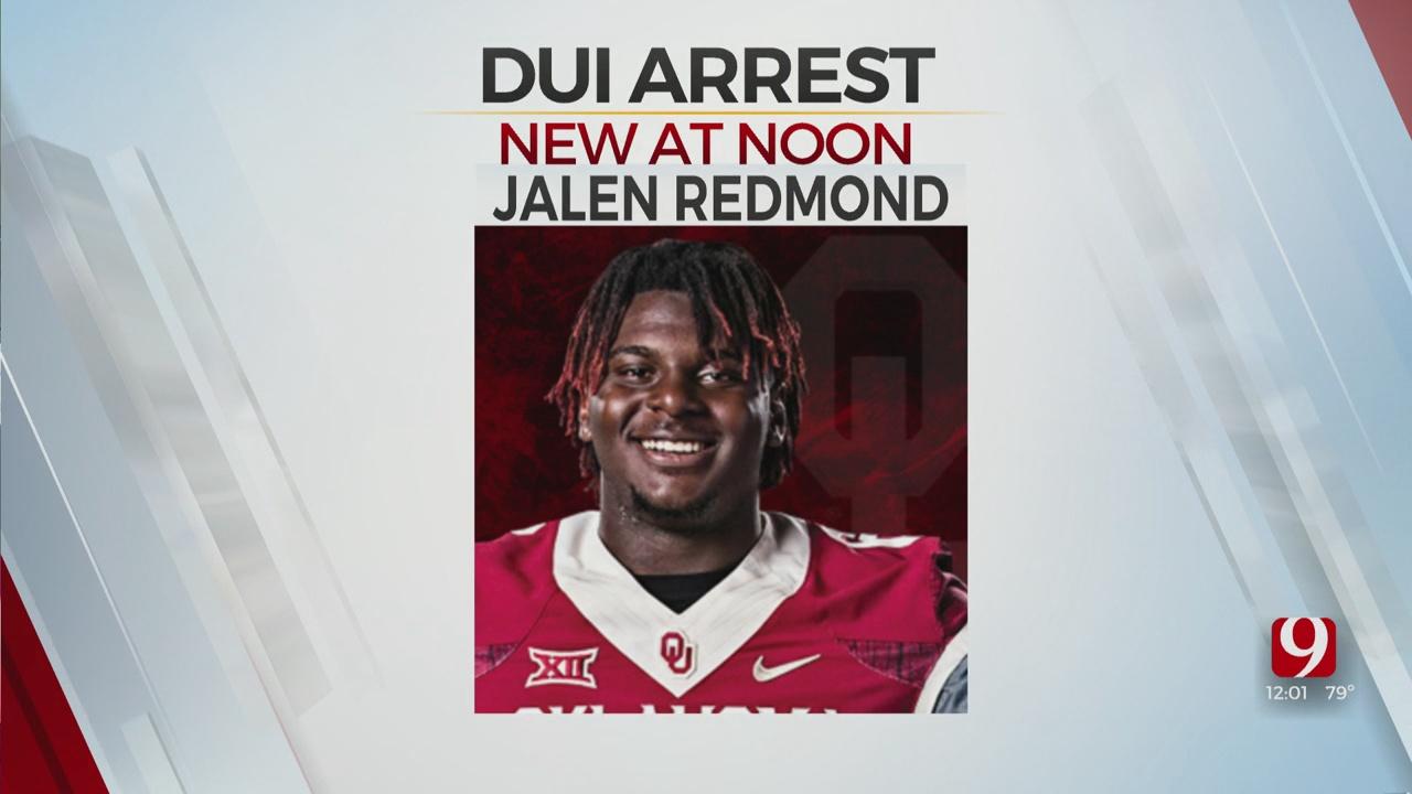 OU Defensive Lineman Jalen Redmond Arrested For DUI