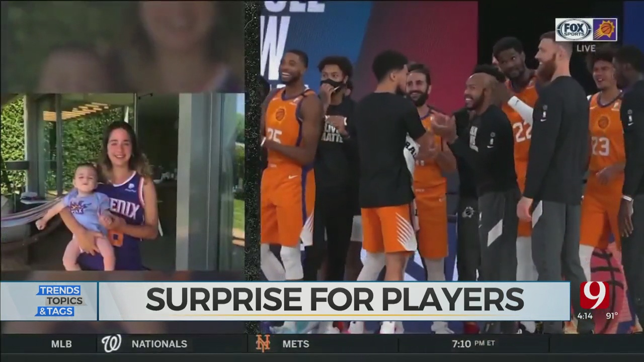 Suns Surprise Team With Pregame Intros From Family Members