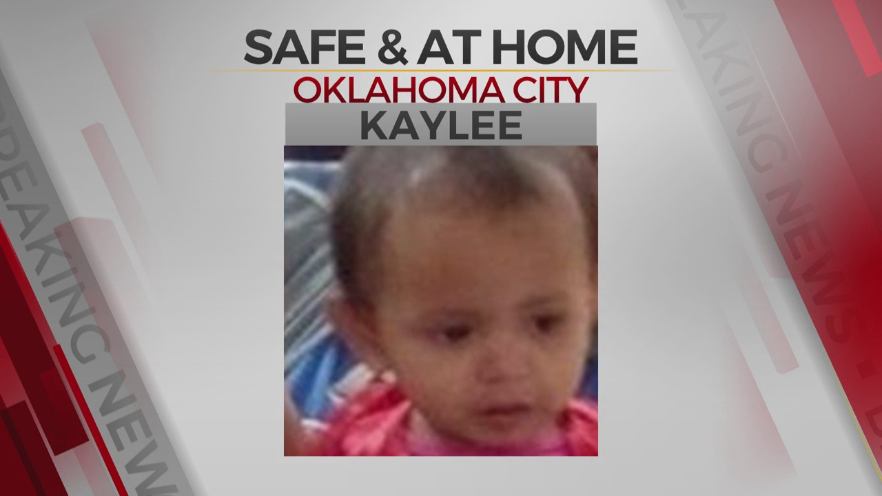 OKC Police Locating Missing 1-Year-Old