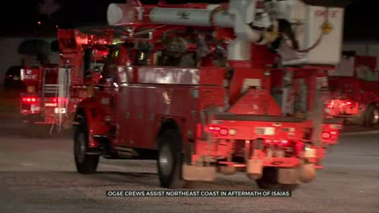 OG&E Crews Travel Thousands Of Miles To Help Americans In Need