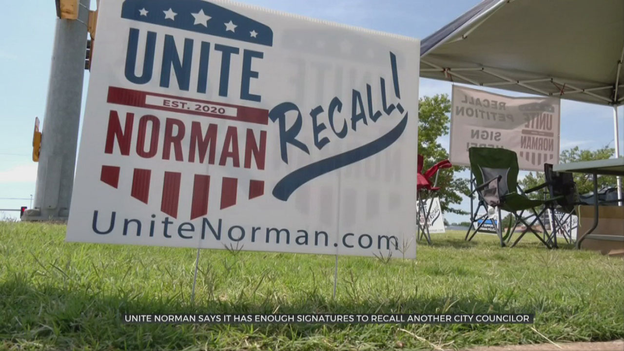 Unite Norman To Turn In Additional Recall Signatures