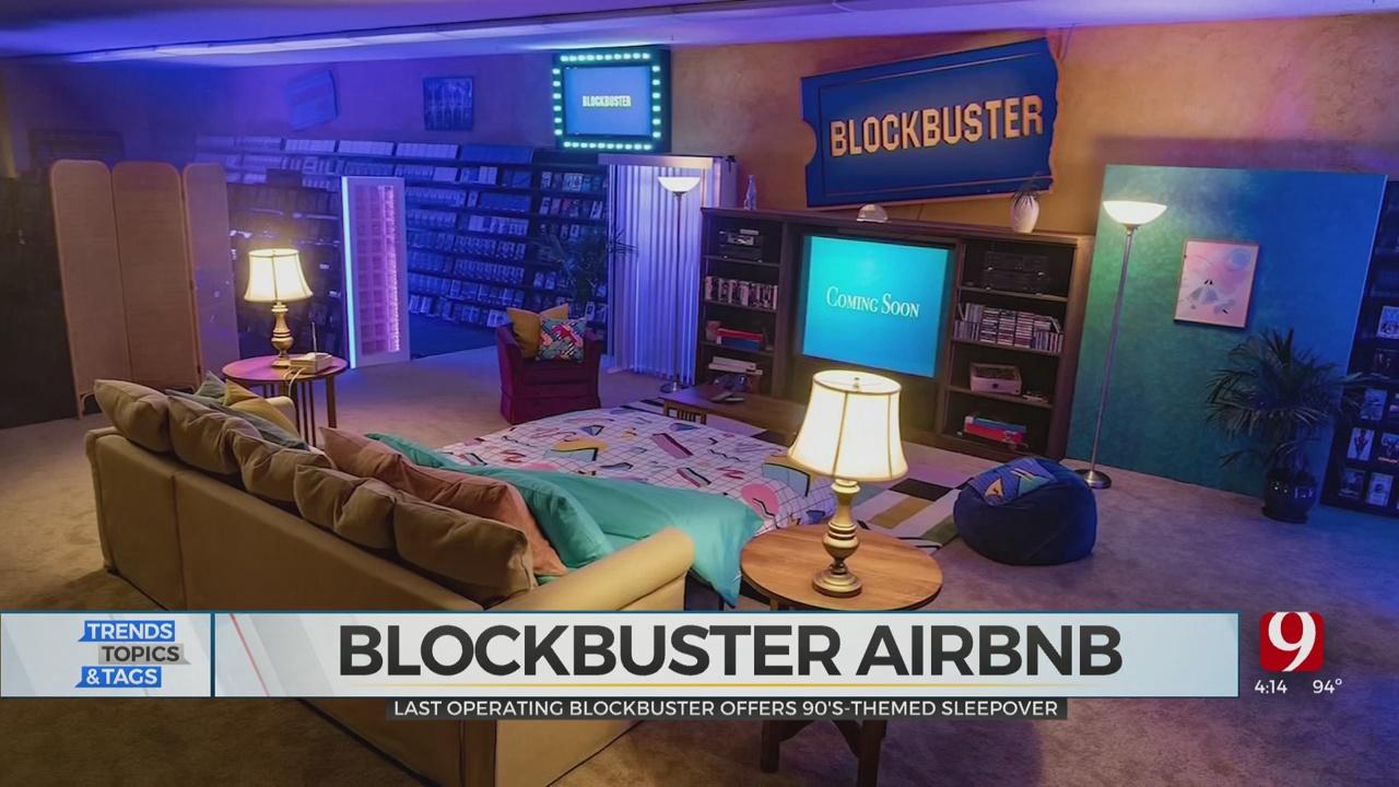 Trends, Topics & Tags: Blockbuster Airbnb