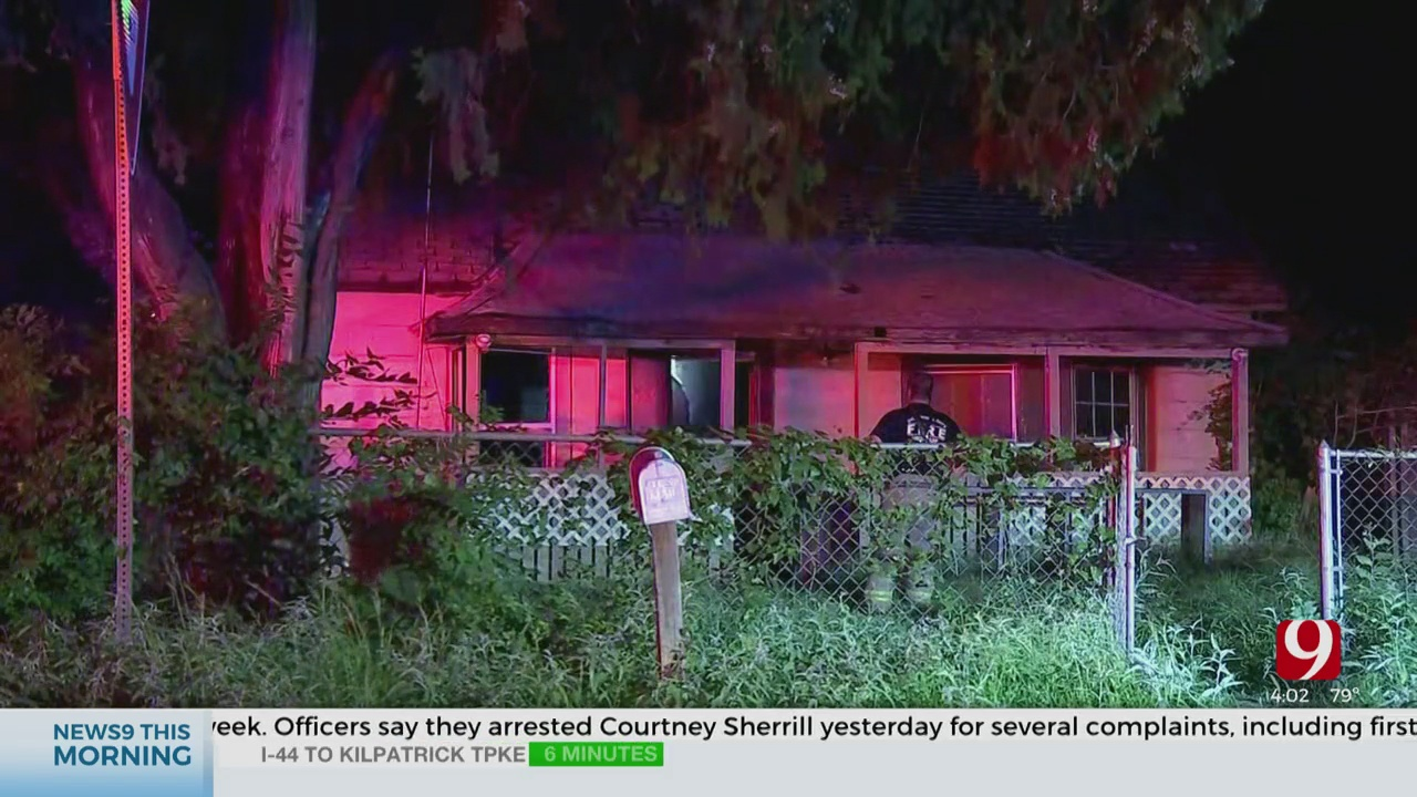 SW OKC Home Damaged In Overnight House Fire