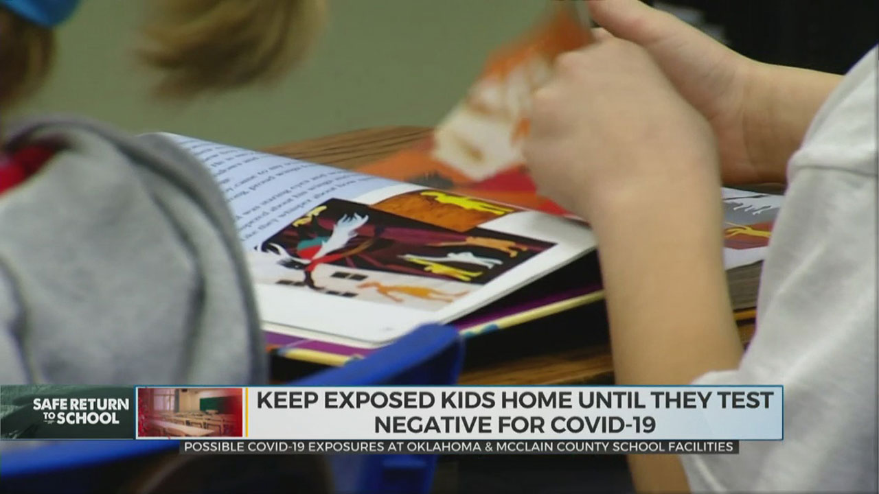 Okla. City-County Health Department Says School Facilities In County Possibly Exposed To COVID-19