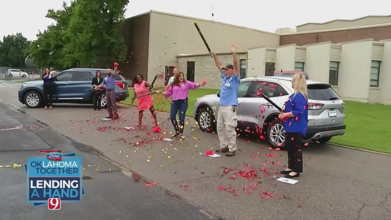 Lending A Hand: News 9 & Your Oklahoma Ford Dealers Announce Winner
